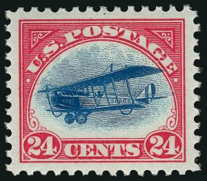 The normal 24¢ 1918 Air Post Issue
