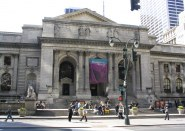 Exterior of New York Public Library
